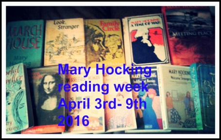 Mary Hocking reading week