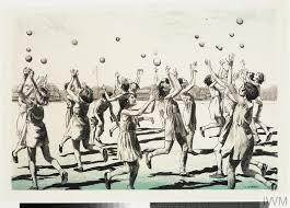 wartime schoolgirls